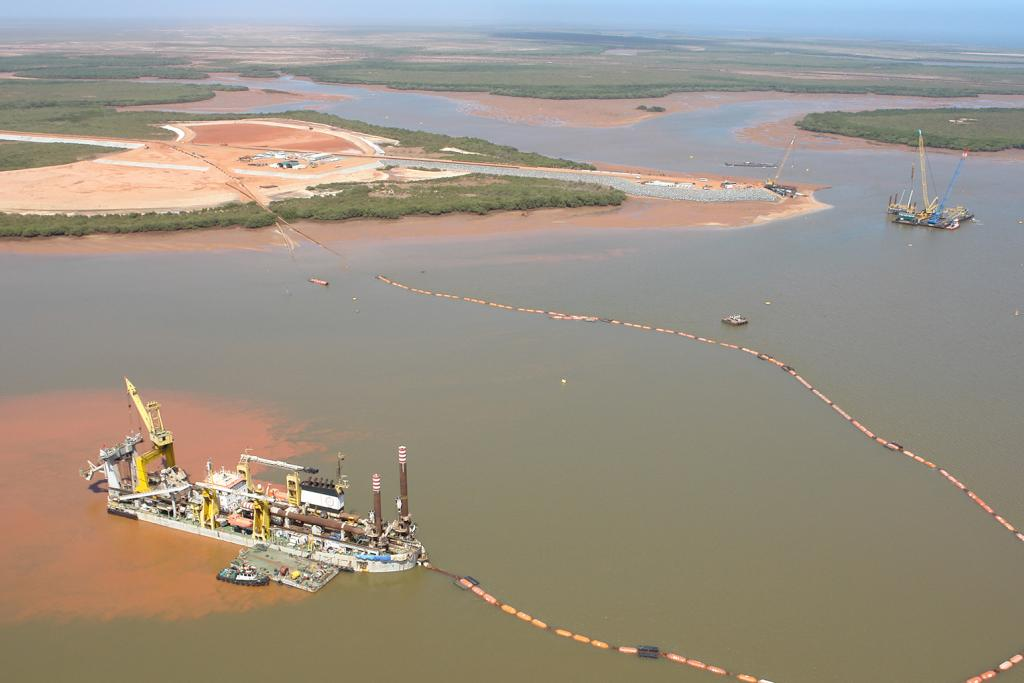 Port Hedland CROP project, Australië