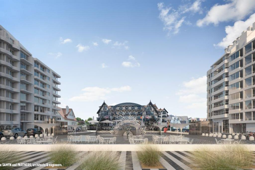 Jan De Nul Group, project development, Knokke Albertplein