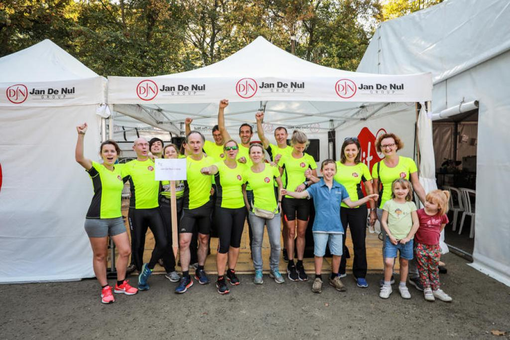 Jan De Nul collects 8,878 euro for the good cause
