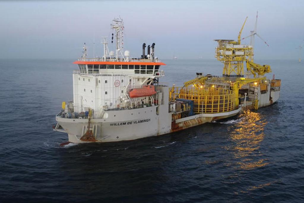 Offshore cable repairs to ensure an uninterrupted supply of electricity