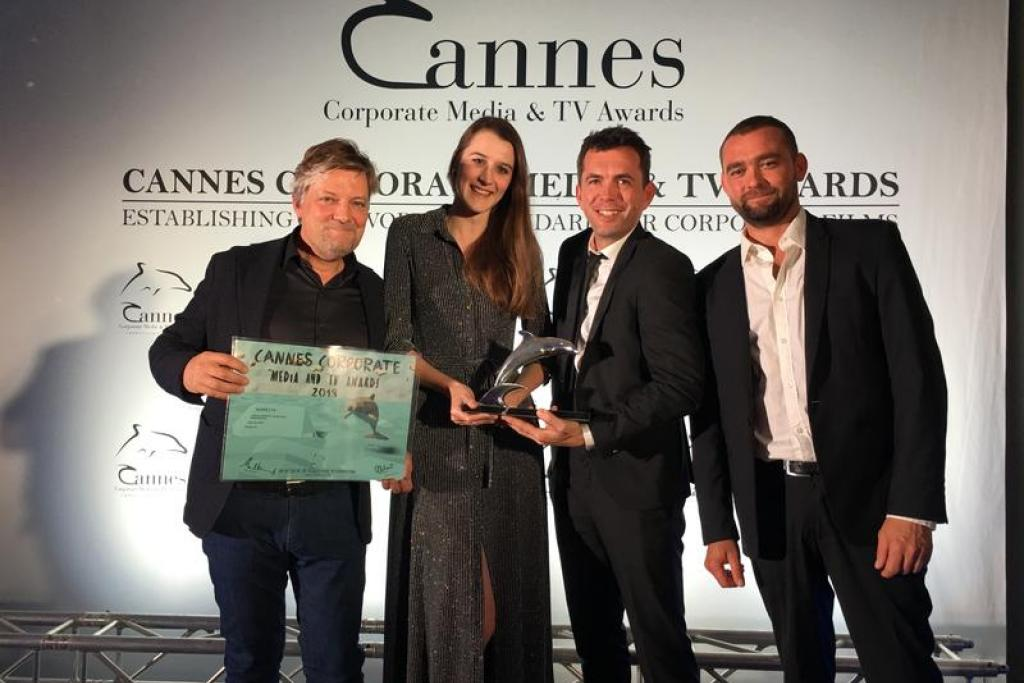 Jan De Nul wins Silver Dolphin in Cannes