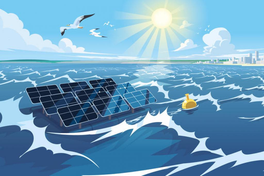 High-wave offshore solar panels soon a reality