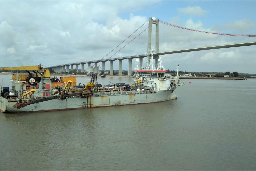 Jan De Nul finishes deepening works in the Port of Maputo