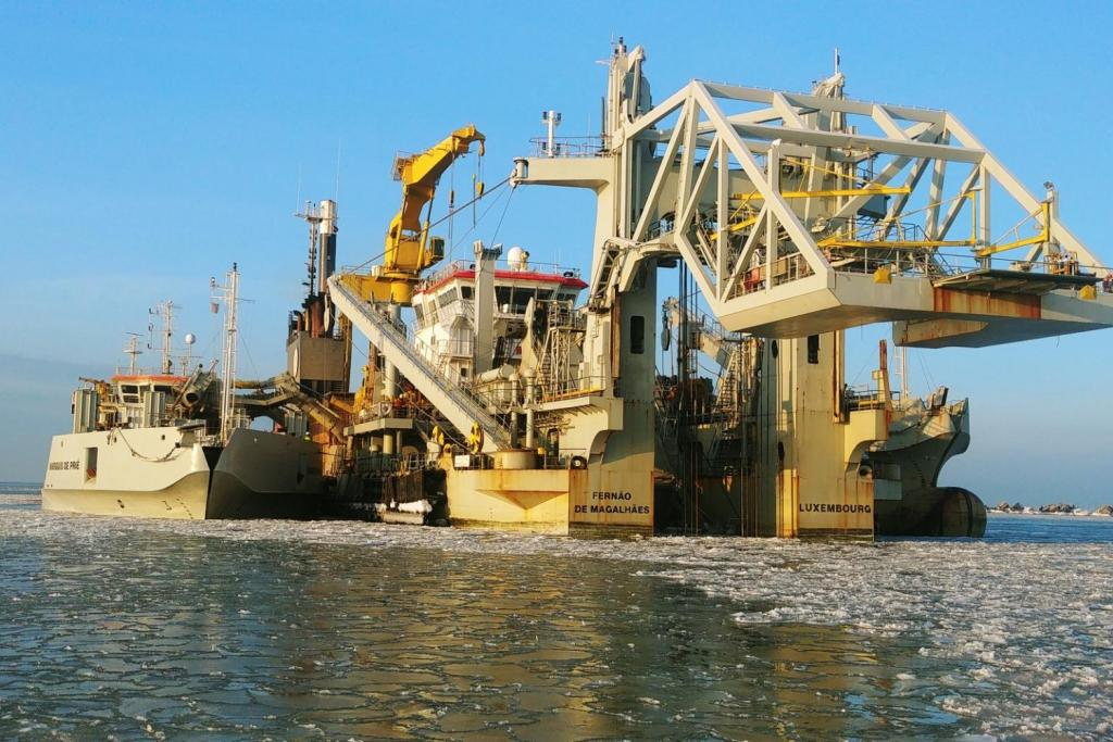 Jan De Nul successfully wraps up Liepaja Port dredging