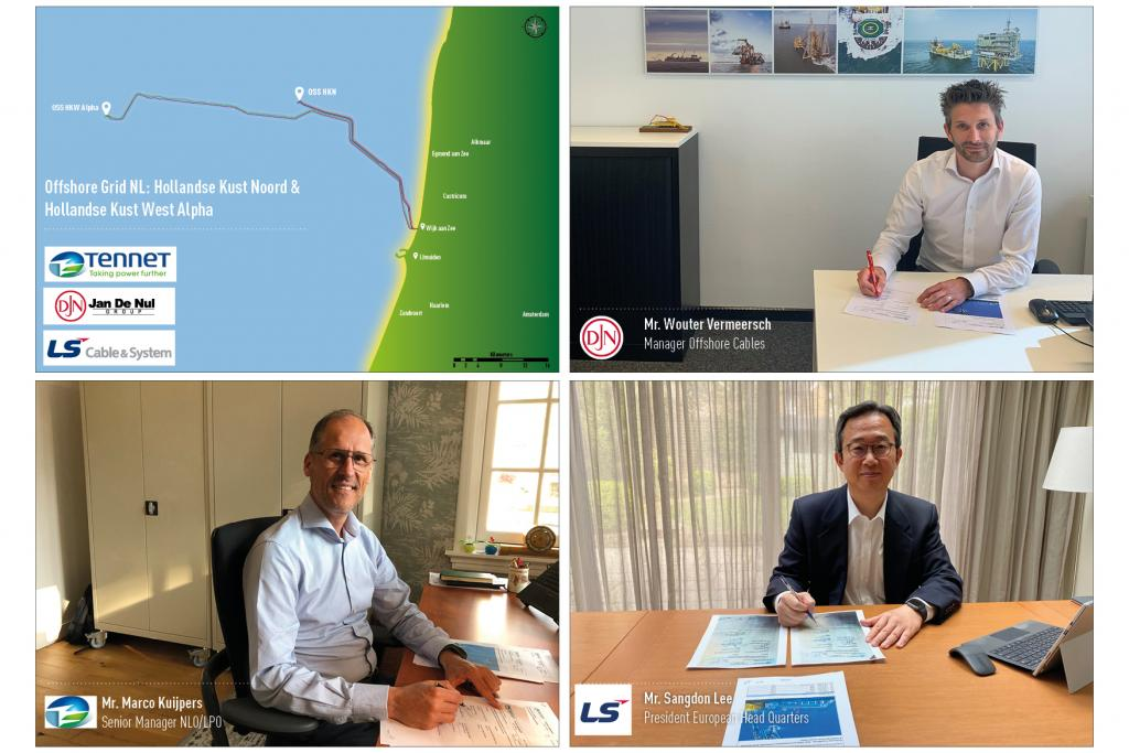 Signing of Hollandse Kust Noord and West Alpha in COVID-19 times