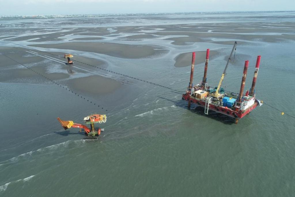 TPC Taiwan - Export cable installation Jan De Nul Group