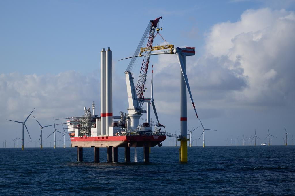 Jan De Nul wraps up offshore installation of Trianel Windpark Borkum II wind turbines in Germany