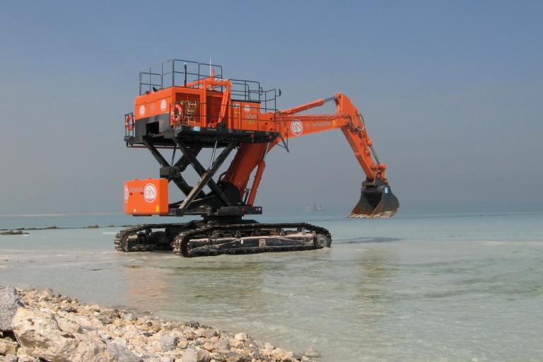 Starfish (Elevated Excavator)