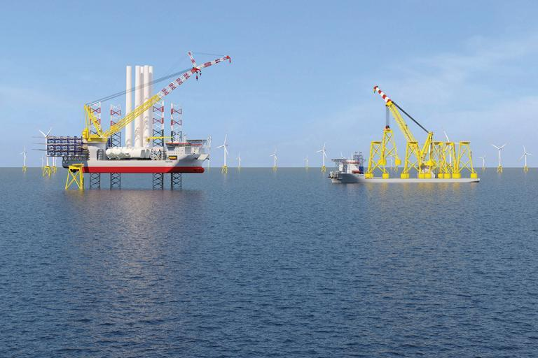 Joining forces to build the world's largest installation vessels